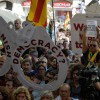 VIDEO: Angry protests break out in Barcelona as police detain Catalan officials