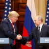 Putin triumphs over Trump at US-Russia summit President Donald Trump questions US intelligence community, not Putin, on alleged Russian meddling in 2016 election.