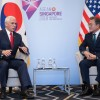 Moon, Pence stress cooperation on North Korea US requests Moon play bigger role in communication with Pyongyang