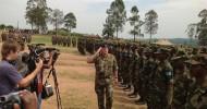 Abaanduulaha ciidamada xooga dalka Soomaaliya oo tababar ugu soo xiray dalka Uganda ciidamo ka tirsan kuwa X.D.S