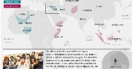 Al-Qaeda map: Isis, Boko Haram and other affiliates' strongholds across Africa and Asia