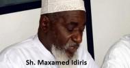Siikh Idriis oo ka tirsan culumada waaweeyn oo saakayna lagu dilay xaafada Likoni ee Magaalada Mombasa
