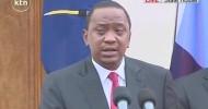 Kenyan President Uhuru Kenyatta vows war on al-Shabab