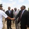 Somali PM Omar Abdirashid Sharmarke has dismissed his newly formed cabinet.