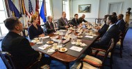 Deputy Defense Secretary Hosts Somali Leaders at Pentagon