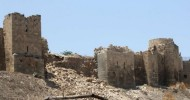 Syria civil war: Bomb damages Aleppo's ancient citade