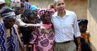 Barack Obama goes back to Kenya: 'It's like JFK going back to Ireland'