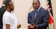Somali ambassador Jamal Mohamed Hassan presented to Kenyan President Uhuru Kenyatta, hiscredentials as the Somalia ambassador to Kenya.
