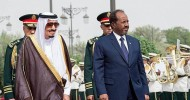 Custodian of the Two Holy Mosques Holds Talks Session with Somalia's President