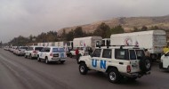 Syria: UN and partners get relief convoy into besieged town of Madaya