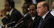 """Referring to Turkey's support for Somalia, the Turkish president said Ankara would """"never let it down."""""""