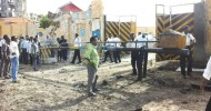 A suicide car bomber targets  traffic police HQ in Mogadishu killing 6