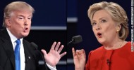 Clinton, Trump battle fiercely in first presidential debate