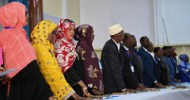 Somalia swears in 283 members of parliament