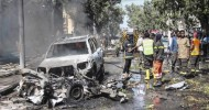 Somalia Car Bombing Wounds Security Guards Working for UN
