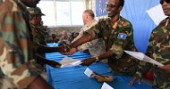 Somali Army troops graduate from a Combat course in built up areas