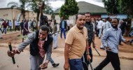 In South Africa, a protest against foreigners turns violent. Why was it allowed to go ahead?