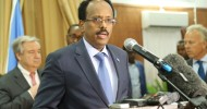 Somali President Mohamed Abdillahi Formajo criticizing the revised U.S. travel ban
