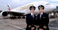Watch: 2 woman pilots fly Emirates A380 for International Women's Day