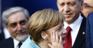 Recep Tayyip Erdogan lashes out anew at Angela Merkel