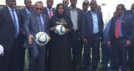 Breaking: CAF President Ahmad arrives in Somalia