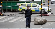 Stockholm attack: Police suspect arrested man was truck driver