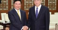 Chinese top political advisor meets Vietnamese deputy prime minister