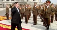 Kim Jong-un appears at massive Pyongyang parade is 'always making provocations'