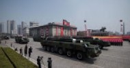 North Korea missile test fails after showcase parade