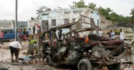 Roadside bomb kills 6 soldiers in Somalia