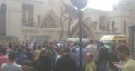 At least 21 killed and 40 injured in explosion at Coptic Church in Egypt's Tanta, says ministry