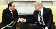 "Last YearTrump declared he is ""very much behind"" el-Sissi, and even called the Egyptian leader ""fantastic guy"