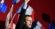 French presidential election LIVE: Emmanuel Macron elected president of France