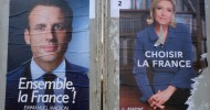 Macron stretches poll lead over Le Pen on final day of bruising campaign