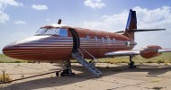 Jet owned by Elvis Presley auctioned after sitting on runway for 30 years