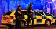 Man arrested in Manchester as Theresa May condemns 'sickening' attack