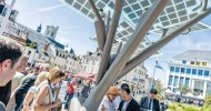 Israel's solar tree takes root in Europe