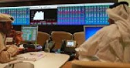 The Qatari stock index sank 7.6 per cent in the first hour of trade