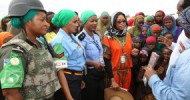 AMISOM and Somali Police hold awareness campaign against sexual and gender-based violence in internally displaced camps