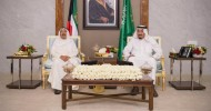 Kuwaiti Emir discusses latest GCC development with King Salman in Saudi