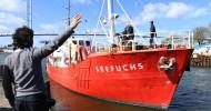 German NGO halts migrant rescue operations off Libya