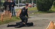 Knife attack in Russian city of Surgut, 7 injured, assailant killed by police (VIDEO)