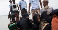 Arson attacks push thousands more Rohingya from Myanmar