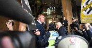 Far-right nationalists found guilty of inciting serious contempt for Muslims after mock beheading video