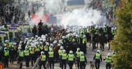 Gothenburg neo-Nazi demonstration ends after hours of unrest