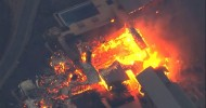 California fires: Deadly wildfires sweep through wine country