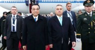 China's premier is attending a meeting with 16 countries from central and Eastern Europe