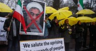 Iranian protester death toll rises to 12 as hundreds arrested