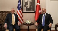 Tillerson in Ankara pledges limited weapon supplies to SDF, says Manbij 'priority' in Syria