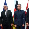 Maximum restraint': Europe allies reject US escalation with Iran EU leaders call for calm as Secretary of State Pompeo makes surprise Brussels visit to discuss alleged Iranian threat.